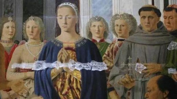 'Sacra Conversación', de Piero della Francesca, una de las pinturas dañadas