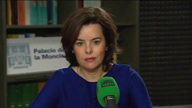 VÍDEO Entrevista completa con Soraya Sáenz de Santamaría