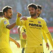 El delantero del Villarreal, Alexandre Pato