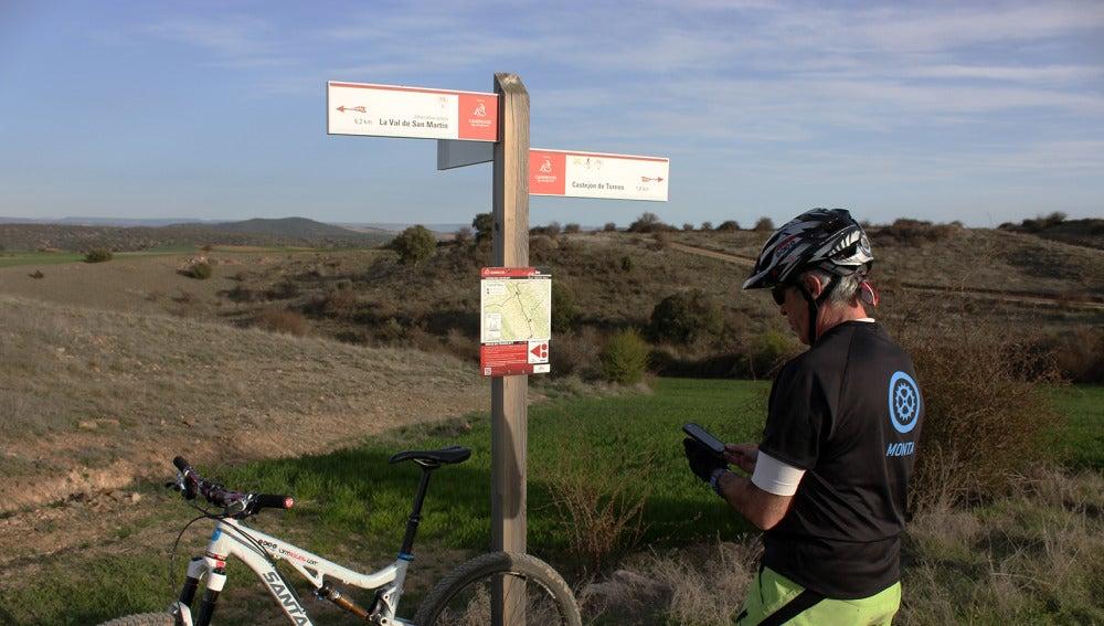 La ruta permite conocer parajes de la provincia desde otro punto de vista.