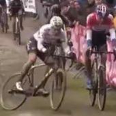 Van Aert, en una prueba de ciclocross