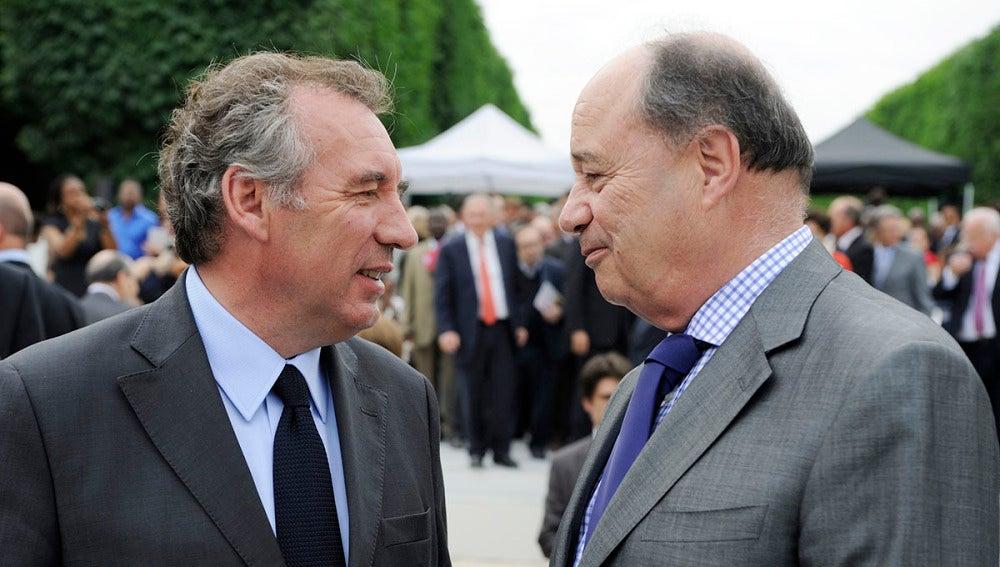 François Bayrou habla con Jean-Michel Baylet