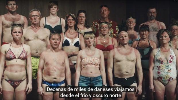 'Ayuda a un danés', la campaña de Dinamarca para prevenir el cáncer de piel