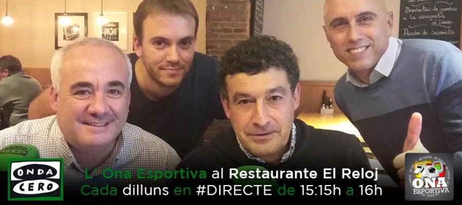 L' Ona Esportiva al Restaurante El Reloj