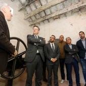 El jefe del Ejecutivo valenciano ha mantenido una reunión de trabajo con miembros del Consorci del Millars en Vila-real.