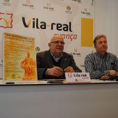 El regidor de Tradicions, Pasqual Batalla i l'edil de Cultura, Eduardo Pérez Arribas, han presentat els actes culturals per a commemorar l'aniversari de la fundació de Vila-real.