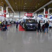 Autocaravanas en la edición de 2016 de Caravaning.