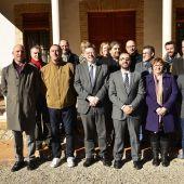 El president de la Generalitat, Ximo Puig ha assistit a la reunió del consorci del Riu Millars en la casa de l´Assut de Vila-real.