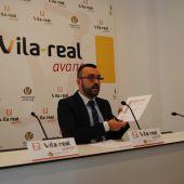 L'alcalde de Vila-real. José Benlloch anuncia el pagament d'una nova operació urbanística dels anys de govern del Partit Popular.