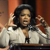 La presentadora Oprah Winfrey