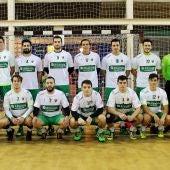 Plantilla del equipo masculino del Club Balonmano Elche 2016/17.