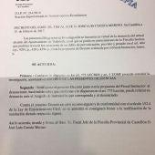 Fiscalía archiva la denuncia del PSPV contra el exalcalde de Todolella.