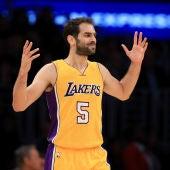 Calderón, con los Lakers