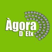 Lotipo de la Asociación Ágora d'Elx