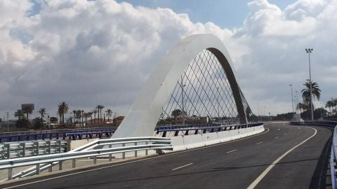 Puente de la Ronda Sur de Elche.