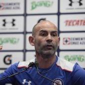 Paco Jémez, entrenador del Cruz Azul mexicano.
