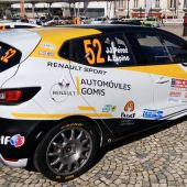 El coche de JJ Pérez, patrocinado por Automóviles Gomis.