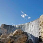 La presa del Pantano de Elche en una imagen de archivo