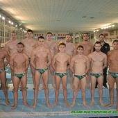 La plantilla del Club Waterpolo Elx aún sueña con el ascenso a Primera División.