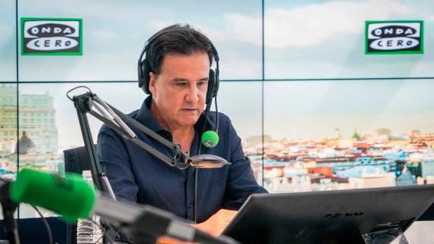 José Ramón de la Morena en el estudio de Onda Cero