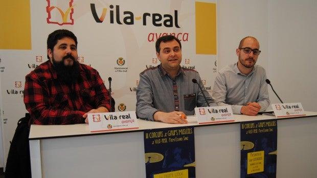 El regidor de Joventut, Xavi Ochando ha presentat el III concurs de grups locals junt amb els organitzadors David Simó i Jordi Moliner.