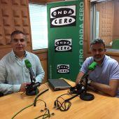 Agustín Déniz y Rober Martí, presentadores de Motor En La Onda Canarias