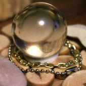 Una bola de cristal