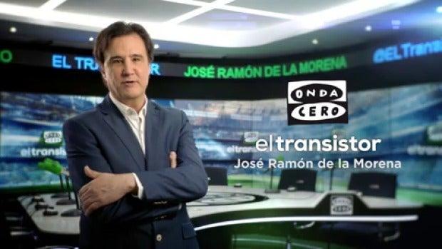 La emoción del deporte, en el nuevo spot de El Transistor de Onda Cero, con José Ramón de la Morena