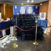 25 detenidos que escondían media tonelada de cocaína en ladrillos