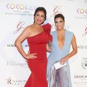 Eva Longoria y María Bravo durante la Gala Global Gift