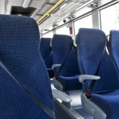 Cinturones de seguridad en un autocar
