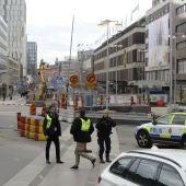 Tres muertos por el atropello de un camión en Estocolmo