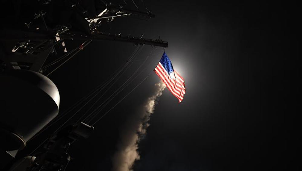 Bombardeo de EEUU en Siria