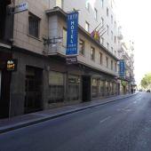 Uno de los hoteles ubicados en el centro de Elche.