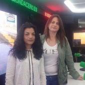 María José Jiménez y Carmen Fernández, presidenta y vicepresidenta de la Asociación de Gitanas Feministas por la Diversidad