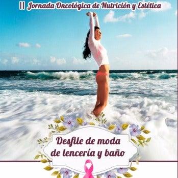 Cartel Desfile de moda de lencería y baño