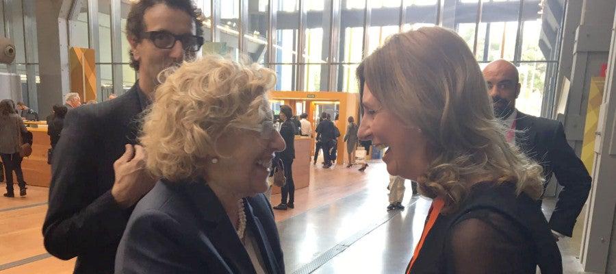 El Foro está impulsado por la alcaldesa de Madrid, Manuela Carmena.