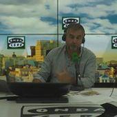 """Frame 153.24057 de: Monólogo de Alsina: """"El tour de la Guardia Civil por Madrid convierte el autobluf de Podemos en una mera atracción turística"""""""
