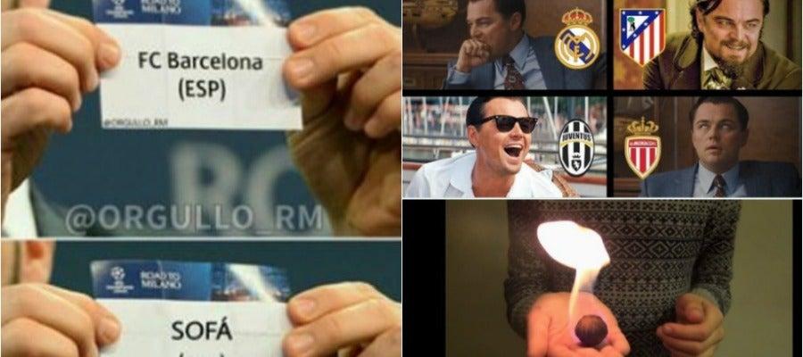 Los 'memes' del sorteo de Champions