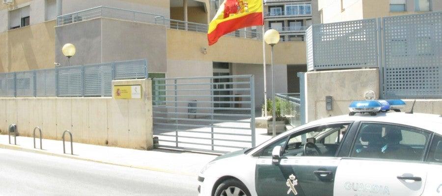 Casa Cuartel de la Guardia Civil en Santa Pola.