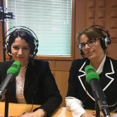 Gloria Poyatos Magistrada del TSJC e Inés Herreros, Fiscal