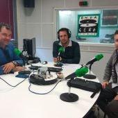 Agustín Ibáñez y Richard Noya le cuentan a Fran Díez cómo fue su Camino Lebaniego