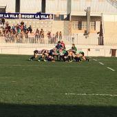 El choque entre Elche y La Vila es un clásico en el rugby alicantino.