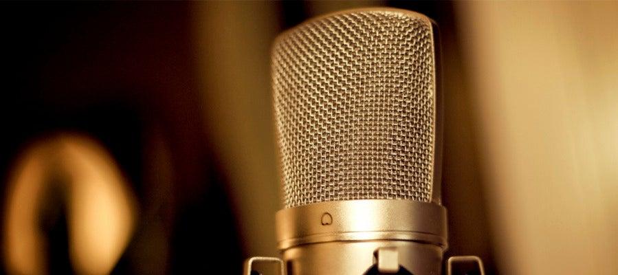 Micrófono de doblaje
