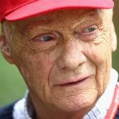 Niki Lauda, en el GP de China