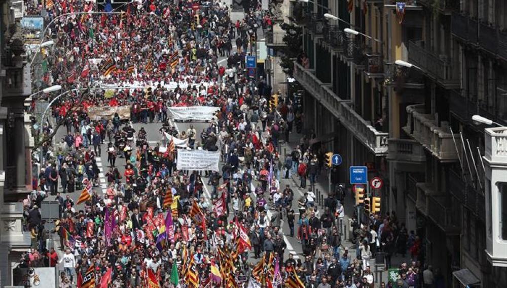 Manifestación del primero de mayo (01-05-2017)