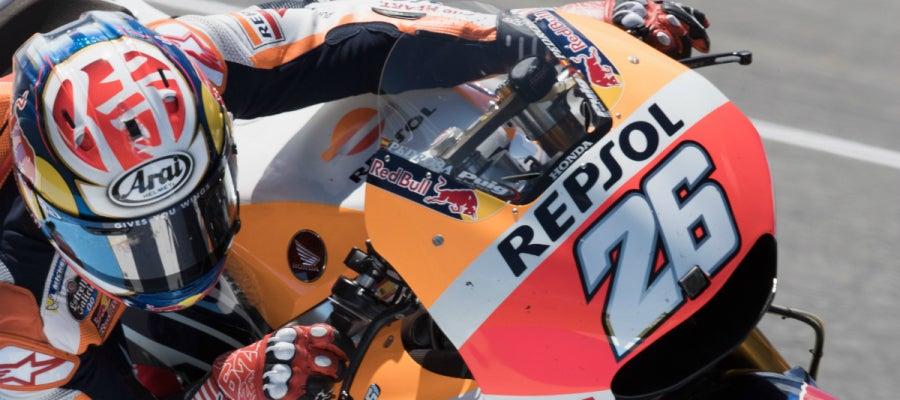 Dani Pedrosa, en su Honda