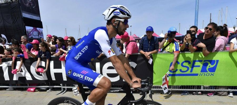 Gaviria, en el Giro