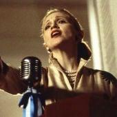 Madonna interpretando a Eva Perón en Evita