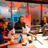 Rubén Amón, Carlos Alsina, Franck Duprat, Álvaro del Río y Ángel Gonzalo desde París